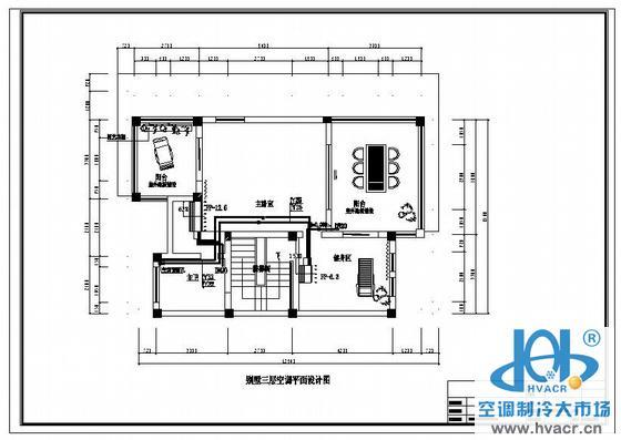 户式别墅数码多联空调设计图