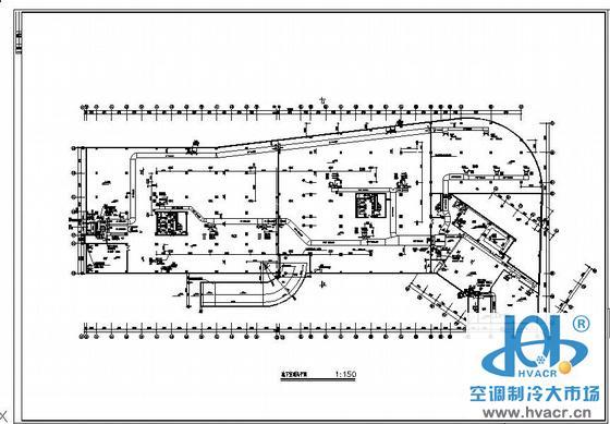 地下室通风排烟设计图_成套工程图下载
