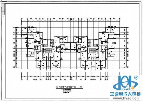 某集资房采暖设计图_成套工程图下载