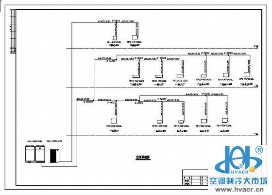 多联机空调电路系统