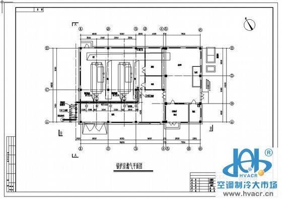 工厂锅炉房燃气管道图