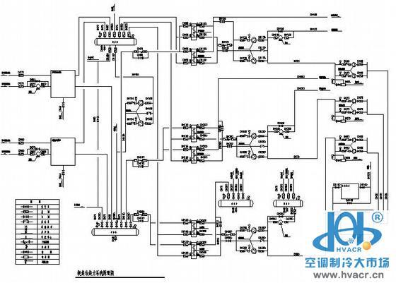 黑龙江某换热站设计图纸_成套工程图下载