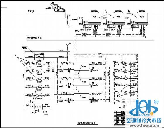 某商务办公酒店通风空调设计图_成套工程图下载