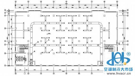 某商场空调设计图