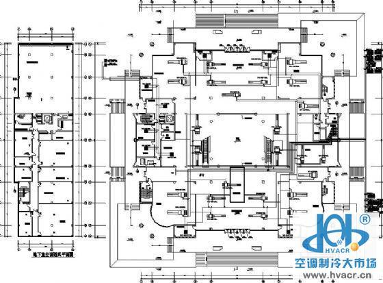 某博物馆空调平面图