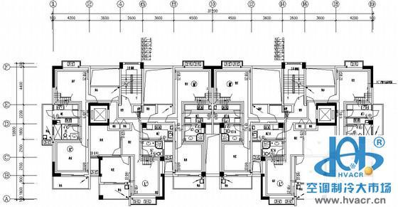 连云港市某住宅楼采暖图纸_成套工程图下载