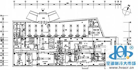 江西某医院空调平面图