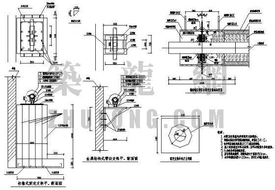 蒸汽管线设计图纸-高压蒸汽管道安装详图 暖通安装大样节点图